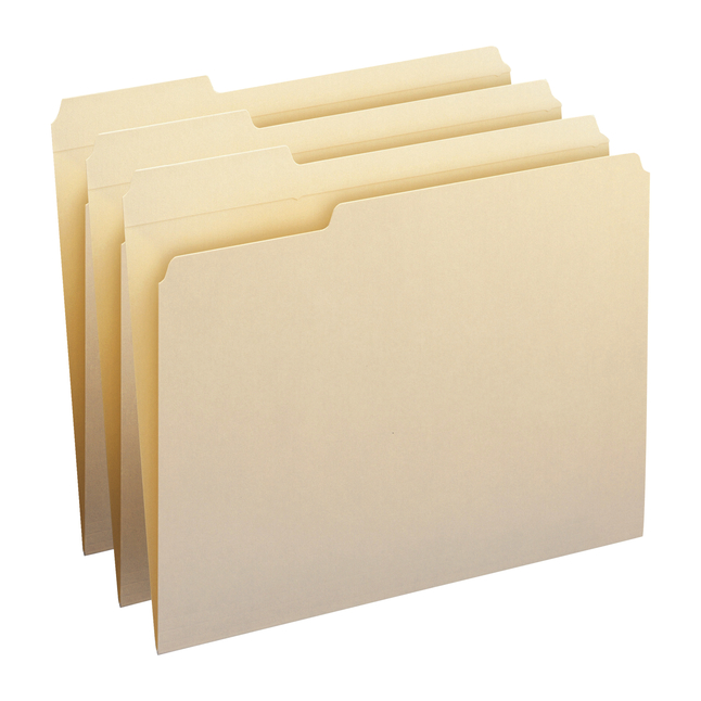 Top Tab File Folders, Item Number 1068553