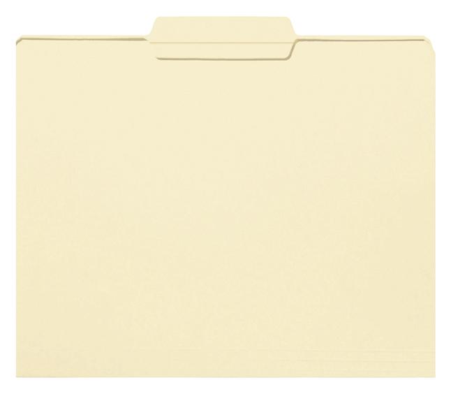 Top Tab File Folders, Item Number 1068554