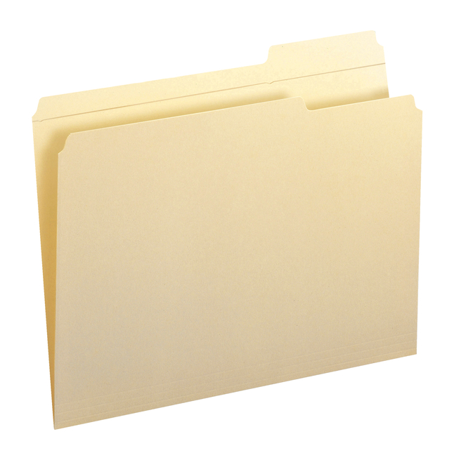Top Tab File Folders, Item Number 1068555