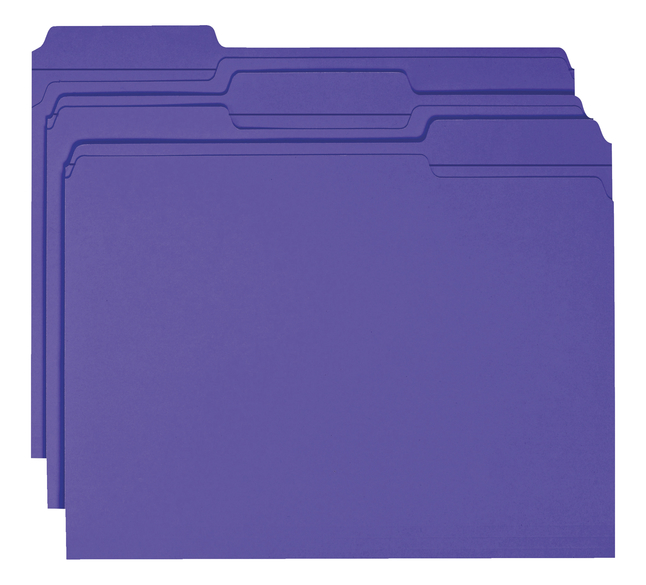 Top Tab File Folders, Item Number 1068616