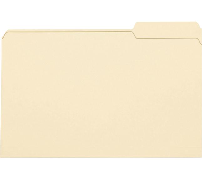 Top Tab File Folders, Item Number 1068670
