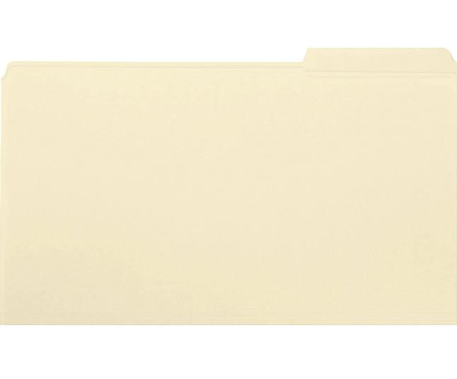 Top Tab File Folders, Item Number 1068674