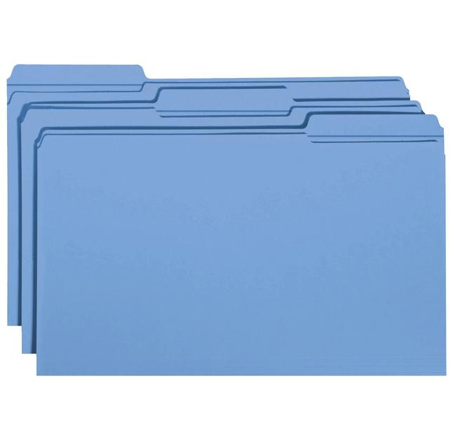 Top Tab File Folders, Item Number 1068684