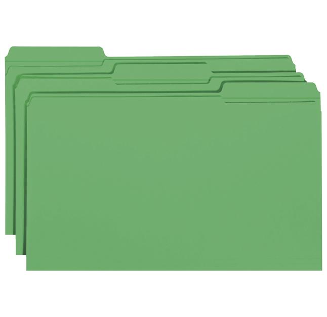Top Tab File Folders, Item Number 1068688
