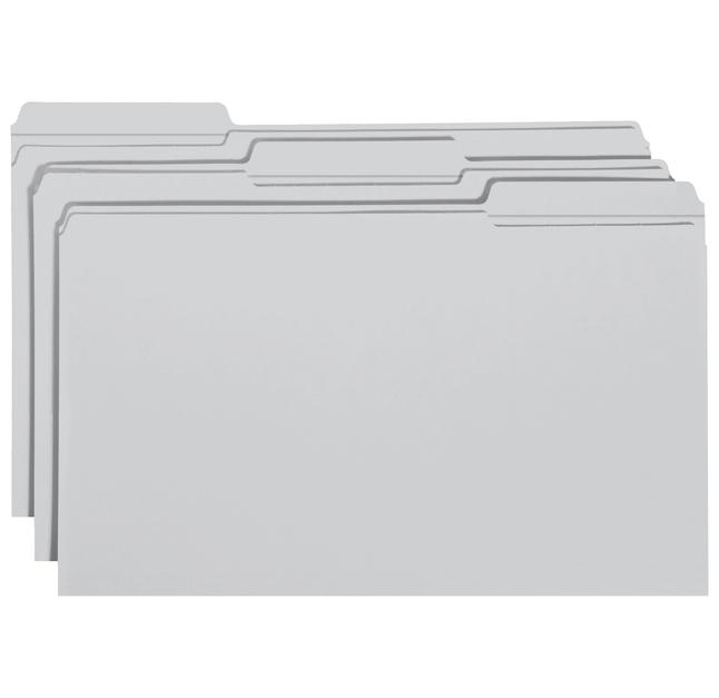 Top Tab File Folders, Item Number 1068692