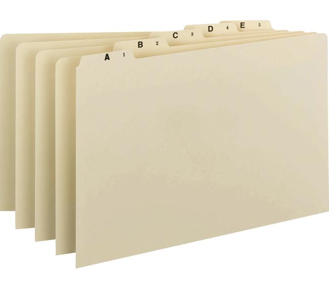 File Guides, Item Number 1068862