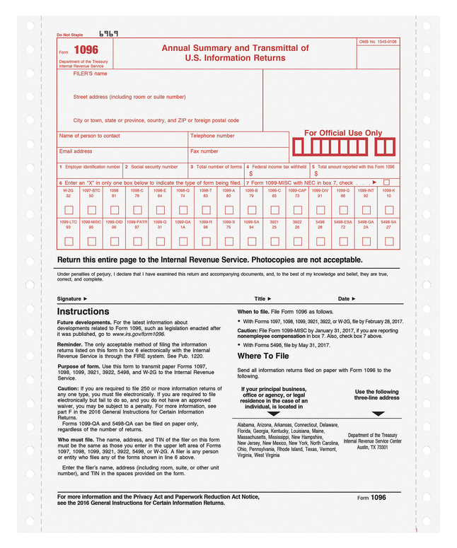 Tax Forms and Legal Forms, Item Number 1070467