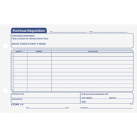 Purchase Order Forms and Books, Item Number 1070490