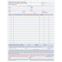 Delivery Forms and Receiving Forms, Item Number 1070531