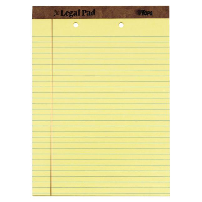 Legal Pads, Item Number 1070708