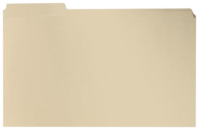 Top Tab File Folders, Item Number 1071272