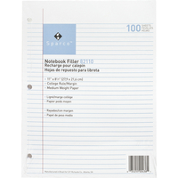 Notebooks, Loose Leaf Paper, Filler Paper, Item Number 1071374