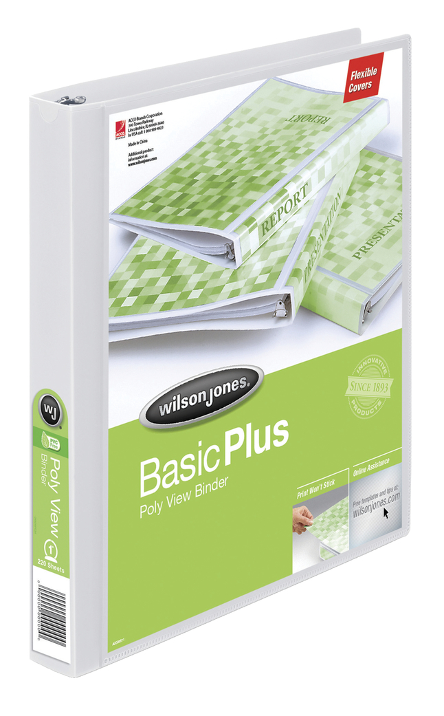 Basic Round Ring Reference Binders, Item Number 1072828