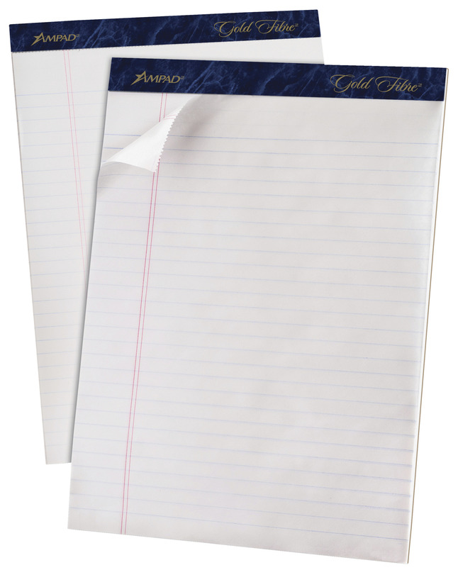 Writing Pads, Colored Legal Pads, Legal Pads, Item Number 1074330
