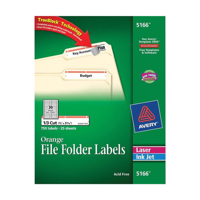 File Folder and File Cabinet Labels, Item Number 1074434
