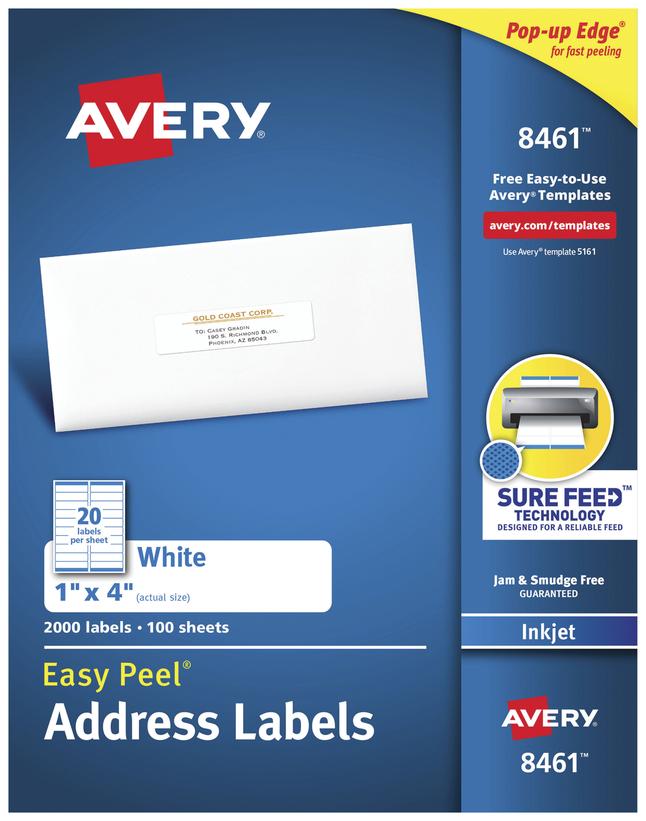 Address Labels, Item Number 1074454