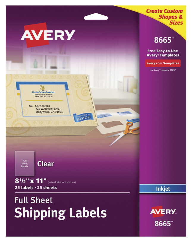 Address Labels, Item Number 1074457