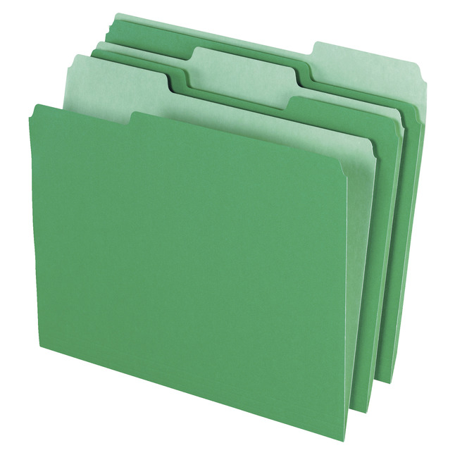 Top Tab File Folders, Item Number 1075144