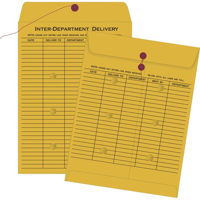 Interterdepartmental Envelopes, Item Number 1077371