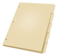Tab Dividers, Item Number 1079207