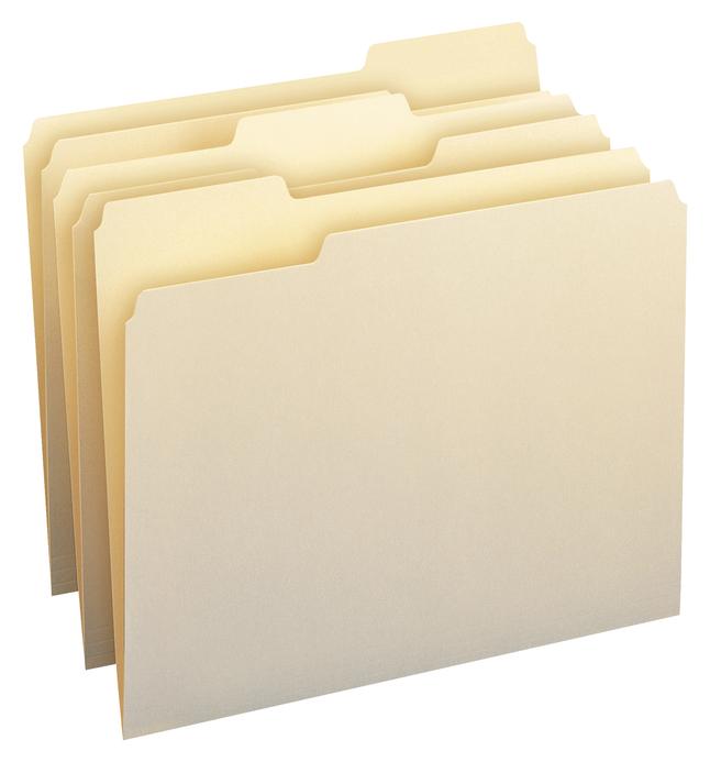 Top Tab File Folders, Item Number 1079771