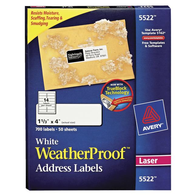 Address Labels, Item Number 1080067