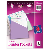 Binder Pockets, Item Number 1482903