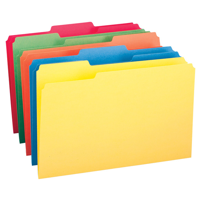 Top Tab File Folders, Item Number 1083674