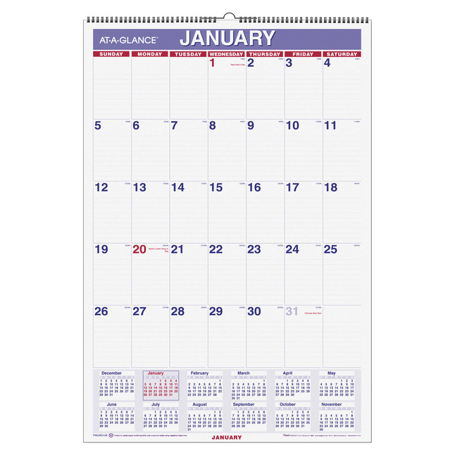 Daily Planner and Calendars, Item Number 1084509