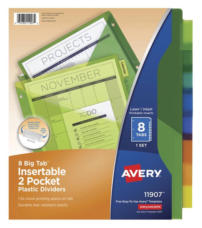 Tab Dividers, Item Number 1091457