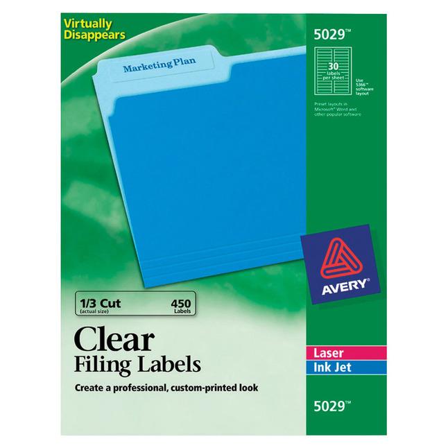 File Folder and File Cabinet Labels, Item Number 1091460