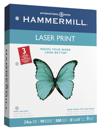 Laser Printer Paper, Item Number 1091726
