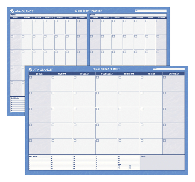 Daily Planner and Calendars, Item Number 1092736