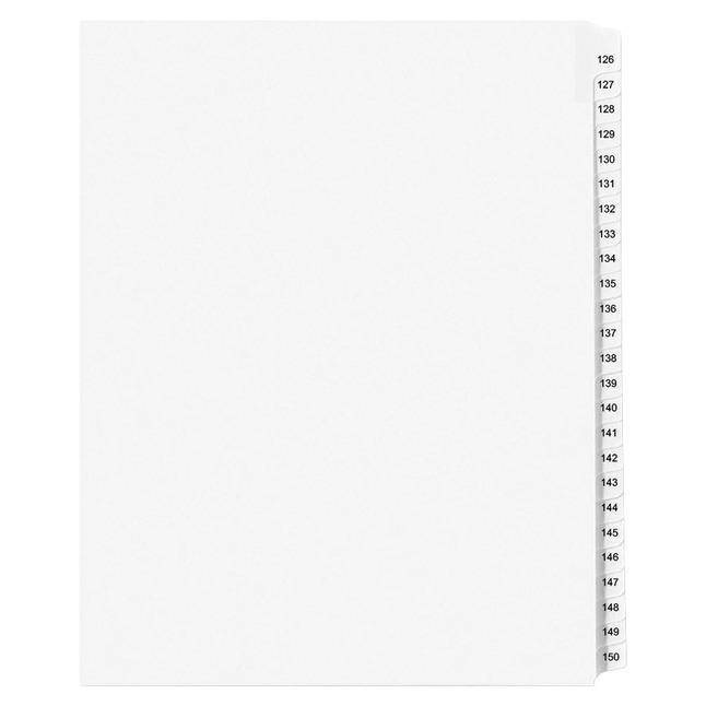 Index Dividers, Item Number 1092760