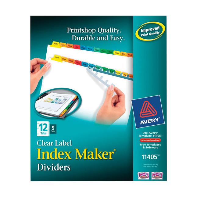 Tab Dividers, Item Number 1092790