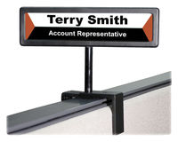 Desk Name Plates, Desk Signs, Item Number 1093012