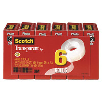 Clear Tape and Transparent Tape, Item Number 1098012