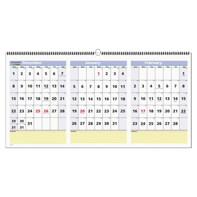 Daily Planner and Calendars, Item Number 1098244