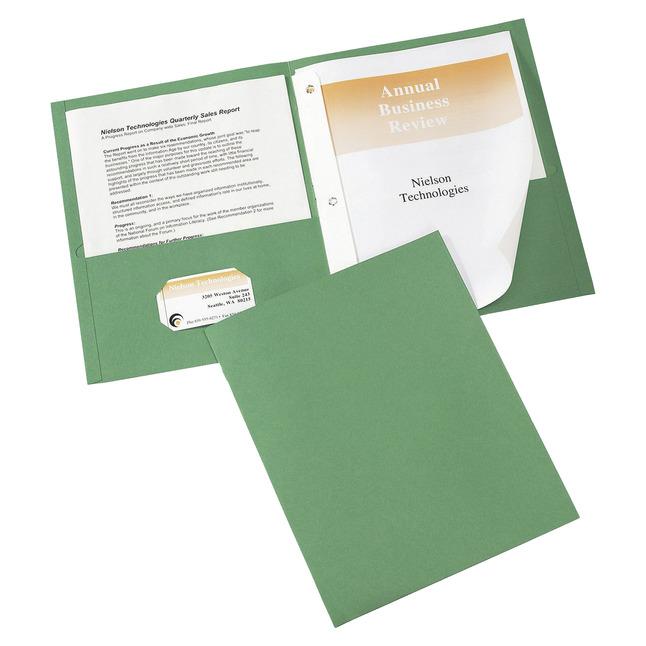 2 Pocket Folders , Item Number 1098394