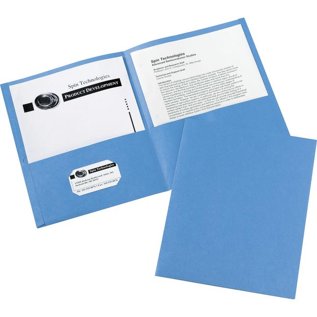 2 Pocket Folders , Item Number 1098399