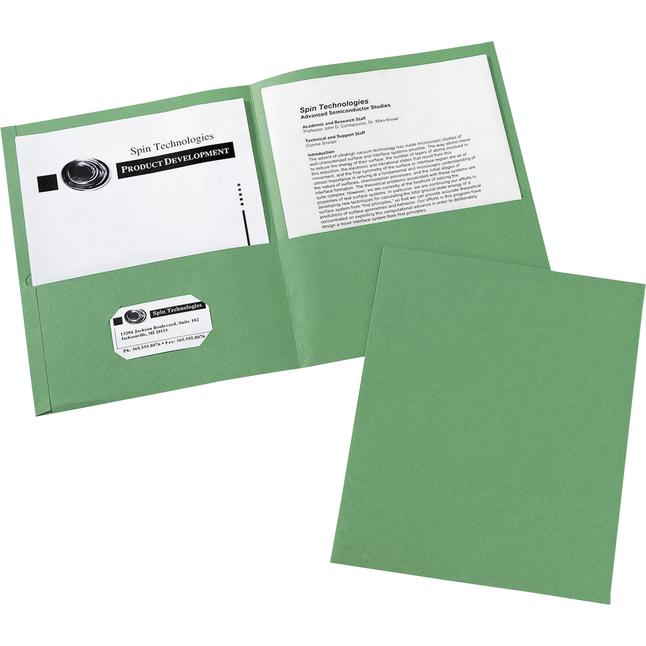 2 Pocket Folders , Item Number 1098400