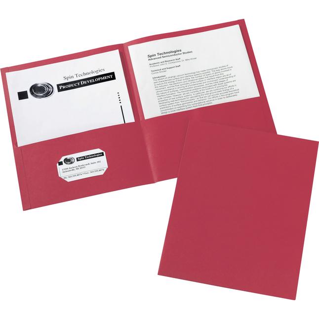 2 Pocket Folders , Item Number 1098402