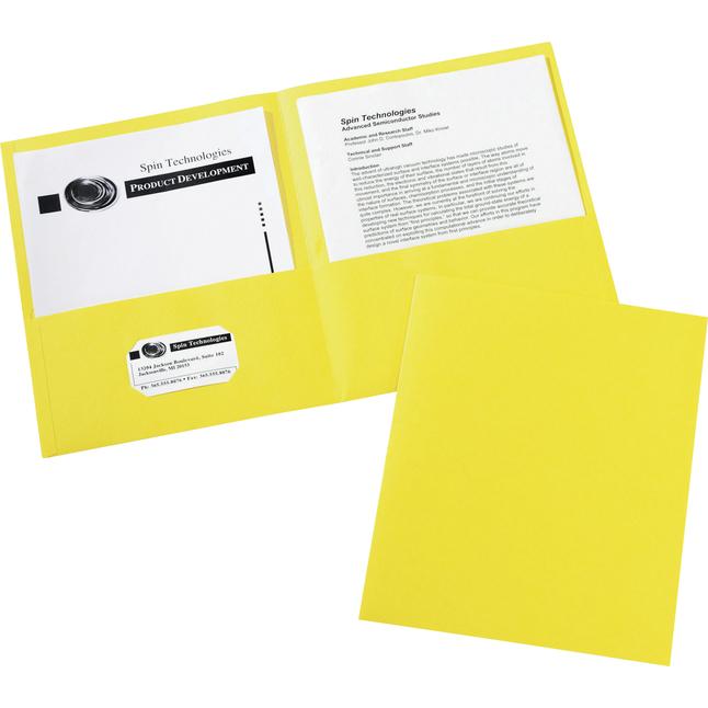 2 Pocket Folders , Item Number 1098405
