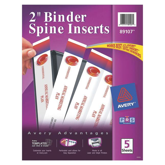Binder Equipment and Binder Supplies, Item Number 1098421