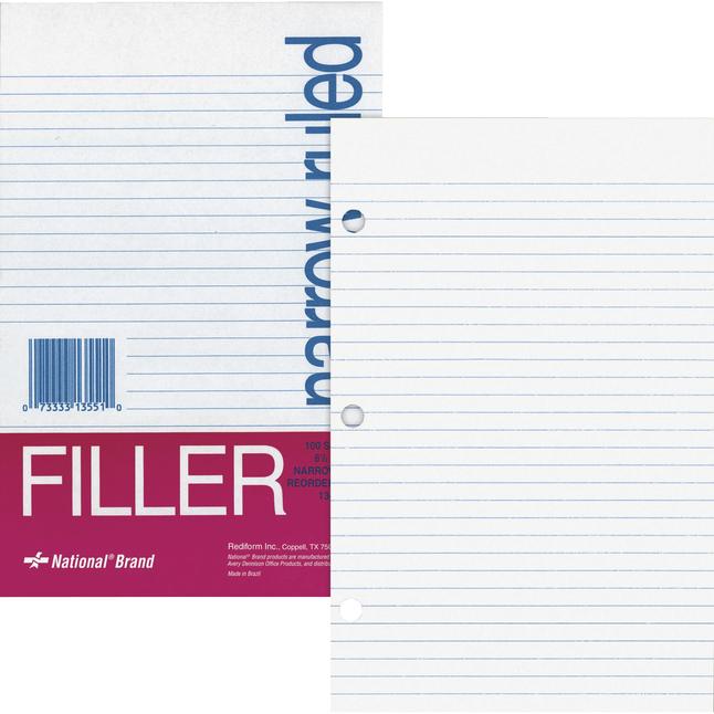 Notebooks, Loose Leaf Paper, Filler Paper, Item Number 1100830