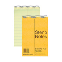 Steno Pads, Steno Notebooks, Item Number 1100861