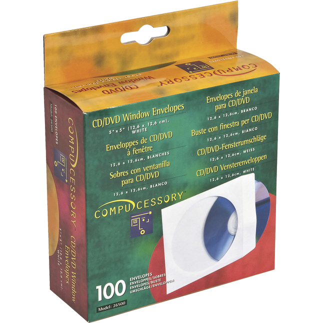 CD Sleeves, DVD Sleeves, Paper CD Sleeves Supplies, Item Number 1101611