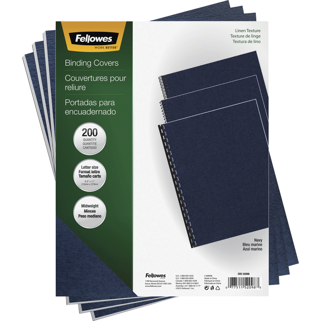 Binder Equipment and Binder Supplies, Item Number 1102359