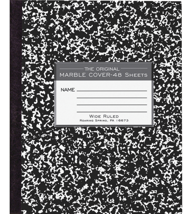 Composition Books, Composition Notebooks, Item Number 1106934