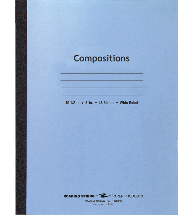 Composition Books, Composition Notebooks, Item Number 1106936